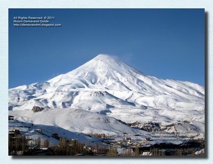 Damavand Winter view